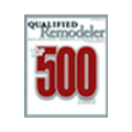 Qualified Remodeler Top 500 Award Castle Windows